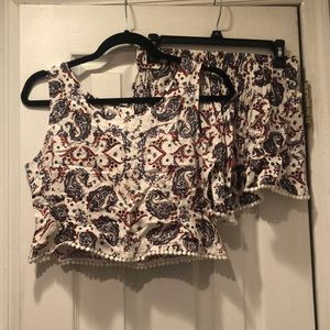 Nordstrom Top and Short Set!